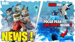 🎯Fortnite polar peak LIVE EVENT English | 💖New Skins ! Item Shop leak| New Weapon🤖TECHNICKTENDO