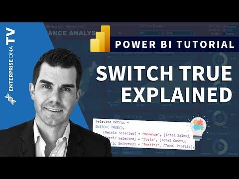 Using SWITCH True Logic In Power BI - DAX Concepts - YouTube