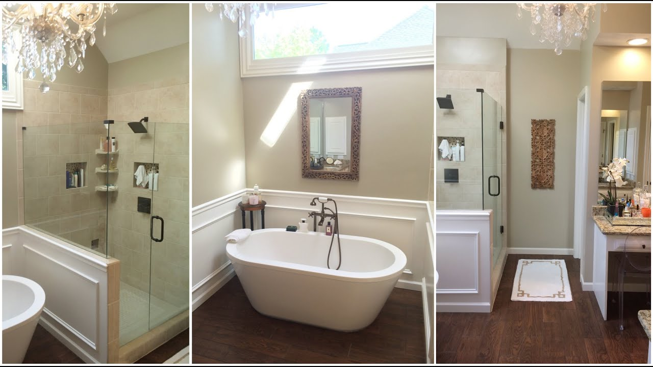 Small Bathroom Redo. MASTER BATHROOM REDO TOUR YouTube