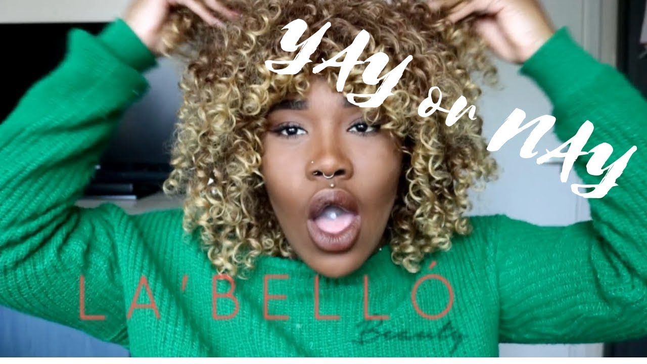 "Download Review || La'bello beauty ""Omoge"" wig"