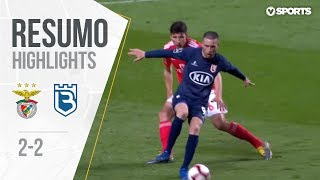Highlights   Resumo: Benfica 2-2 Belenenses (Liga 18/19 #25)