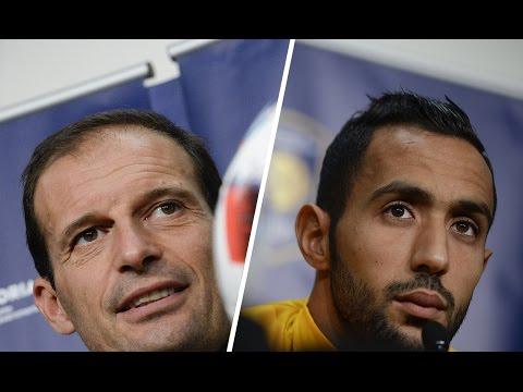 Juve On Tour: Allegri and Benatia look ahead to Spurs - Le parole di Allegri e Benatia