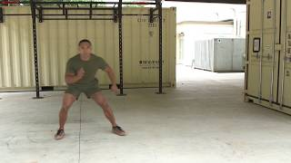 Marines Force Fitness-Lateral Shuffle