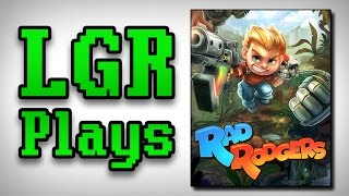 LGR Plays - Rad Rodgers [Early Build First Impressions]