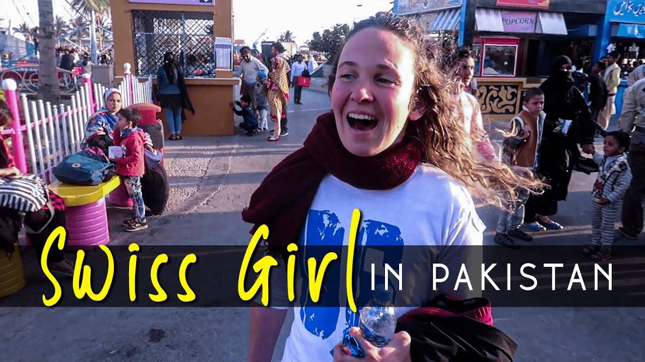 swiss girl is visiting pakistan she loves pakistan youtube
