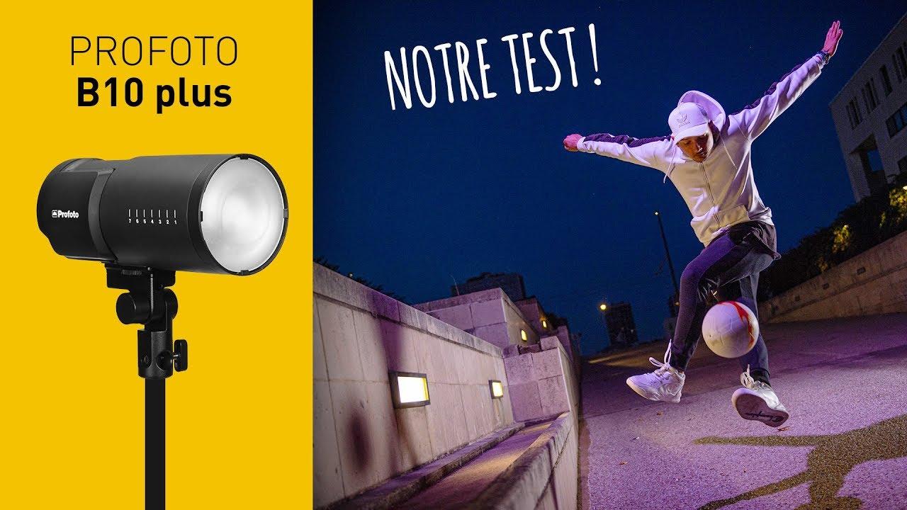 TEST : Séance Photo Street Football avec le Flash B10 plus de Profoto ( en français )