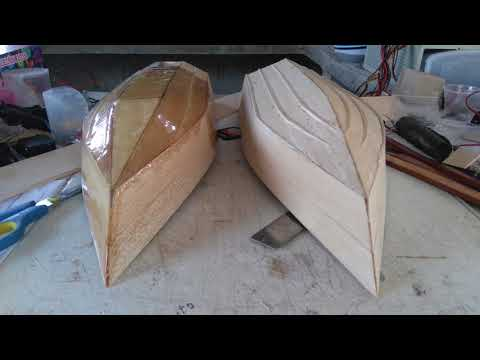 Homemade RC Boat's - part.1 / Building & First Test