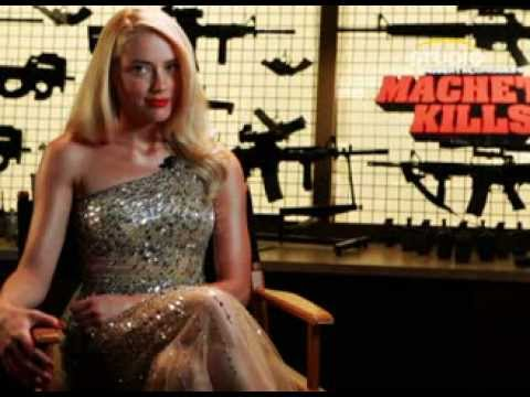 Amber heard in machete kills - 3 part 8