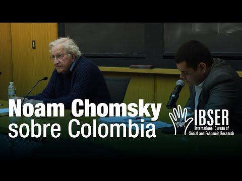 Colombia: Building Peace - Noam Chomsky & Juan Pablo Durán - QA