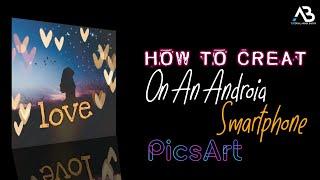 Wie Creat | Auf Einem Android-Smartphone | - Pinsel | Maske | Picsart | hindi Tutorial | 2019