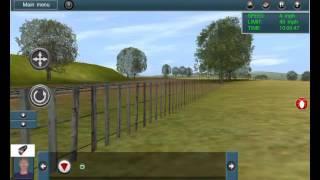 Momen persilangan KA (trainz simulator android)