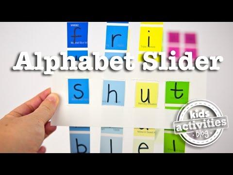 Alphabet Slider -- Word Game For Kids