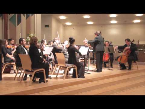Culver City Chamber Orchestra under the direction of Music Director Arlette Cardenes