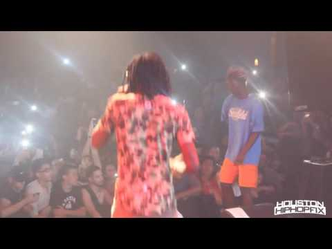 Young Thug Performs Best Friend Live in Houston