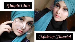Simple Glam Makeup Tutorial For Beginners || Noshin Nower ❤