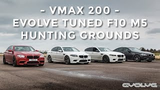 The Chase for 200mph - VMAX 200 in our F10 M5