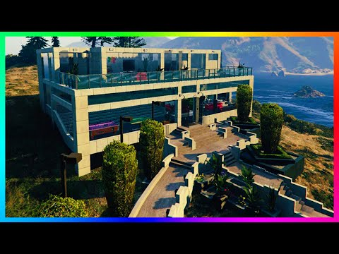 HOW MULTI MILLION DOLLAR MANSIONS, LUXURY HOUSES, VILLAS & PARTY HOMES LOOK IN GTA 5! (GTA 5 MODS)