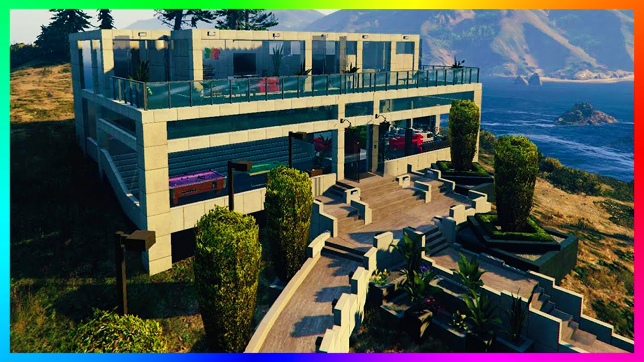 HOW MULTI MILLION DOLLAR MANSIONS, LUXURY HOUSES, VILLAS U0026 PARTY HOMES LOOK  IN GTA 5! (GTA 5 MODS)   YouTube