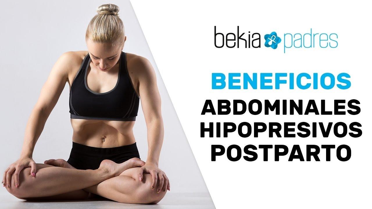 los abdominales hipopresivos posparto