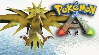 connectYoutube - TAMING ZAPDOS! | Ark (Pokemon Evolved Mod) #3
