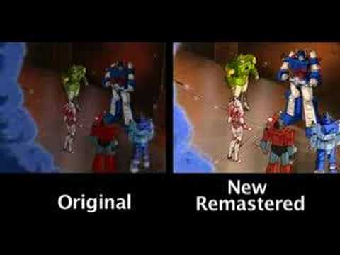 Transformers The Movie Special Edition DVD Image Comparison