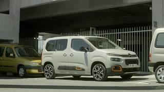 New Citroën Berlingo : Reversing camera with Top Vision