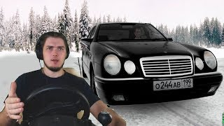 РАЗБИЛ МЕРИН БАНДИТСКИЙ - City Car Driving + РУЛЬ и 3 ПЕДАЛИ