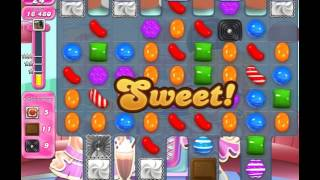 Candy Crush Saga Level 1447 (No booster, 3 Stars)