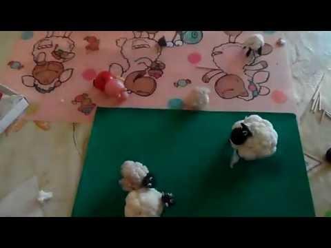 Как сделать своими руками овечку из цветной капусты