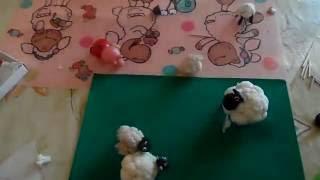 как сделать барашка из цветной капусты