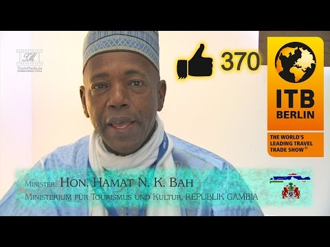 ITB 2017 Interview mit Minister Hon. Hamat N. K. Bah - Gambia Tourism Board