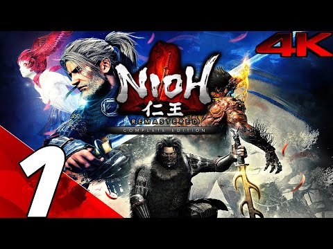 NIOH REMASTERED – Gameplay Walkthrough Part 1 – Complete Edition (4K 60FPS) PS5/PC