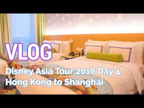 VLOG: Disney Asia Tour - Day 4 (Hong Kong to Shanghai)