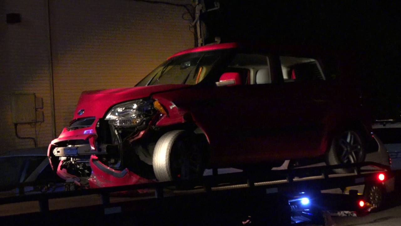 New Bedford police car chase ends in crash