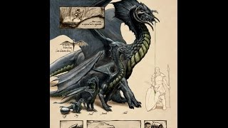 Dungeons and Dragons Lore : Black Dragon