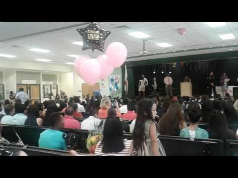 Parkside elementary school graduation in Naples Florida