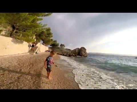 Croatia/Chorwacja Brela Wakacje 2015 :)