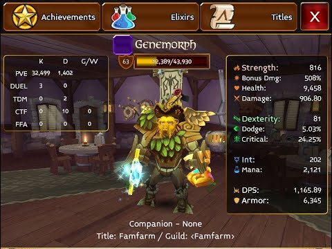 MAJOR Update In Arcane Legends || I Am Switching To Warrior.