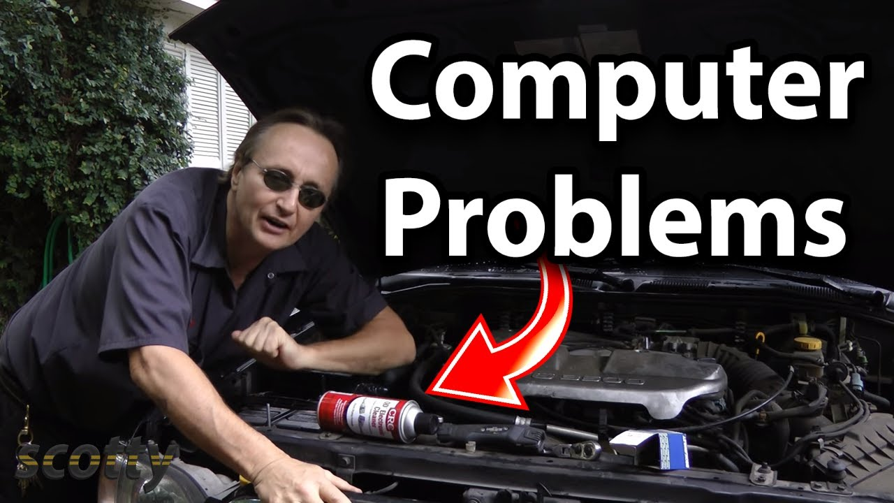 How To Fix Computer Problems In Your Car With A Little Spray Cleaner 2005 Buick Lacrosse Starter Location