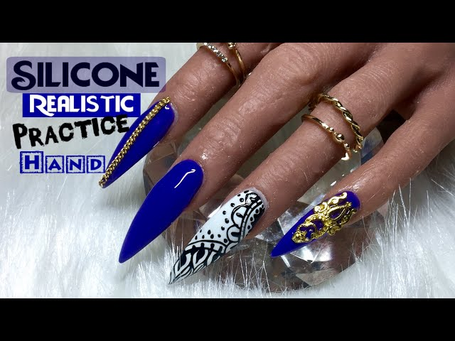 First Impression SILICONE Realistic Practice Hand | Nailsby Nikki
