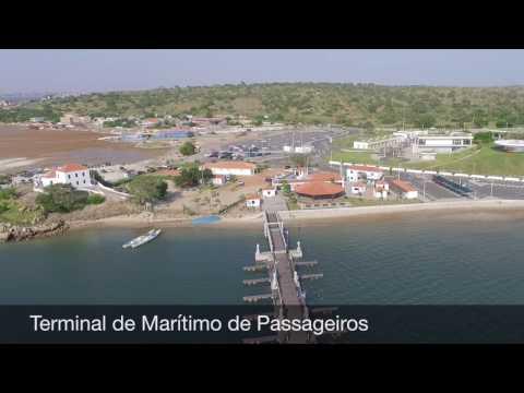 Slavery Museum Passenger Port Terminal in Luanda, Angola