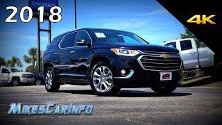 2018 Chevrolet Traverse Premier - Ultimate In-Depth Look in 4K