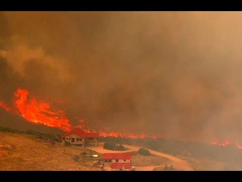Wildfire outbreak in Utah challenging Utah firefighters