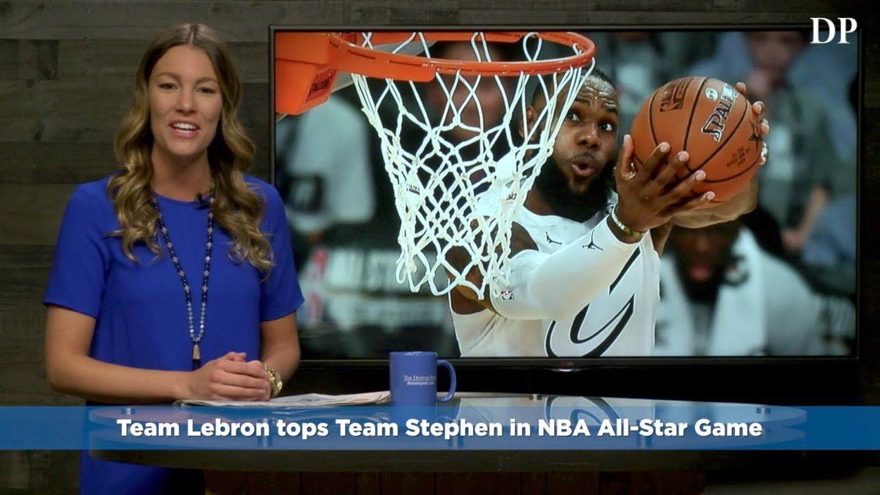 Team Lebron tops Team Stephen in NBA All-Star Game