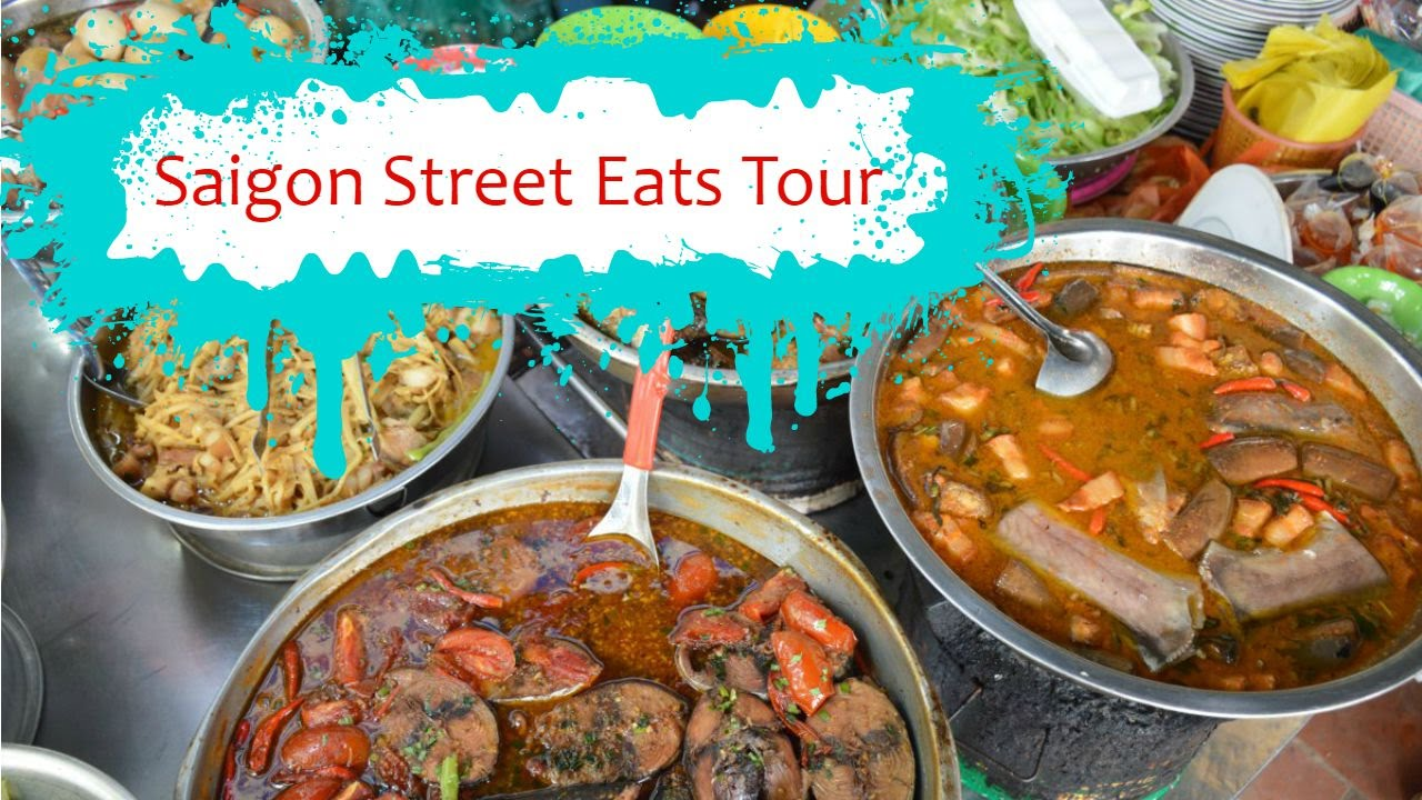 street food in vietnam with saigon street eats tour youtube. Black Bedroom Furniture Sets. Home Design Ideas