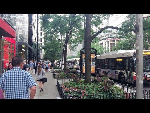 Chicago, Illinois - Michigan Avenue (July 29, 2016)