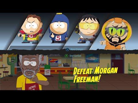 Defeat Morgan Freeman! Easy!