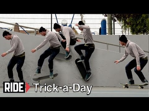 HowTo Skateboarding: Backside Wallride Nollie Out With Brian Downey