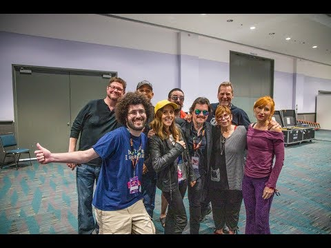 Chillin' With Voice Actors Anime Expo 2019