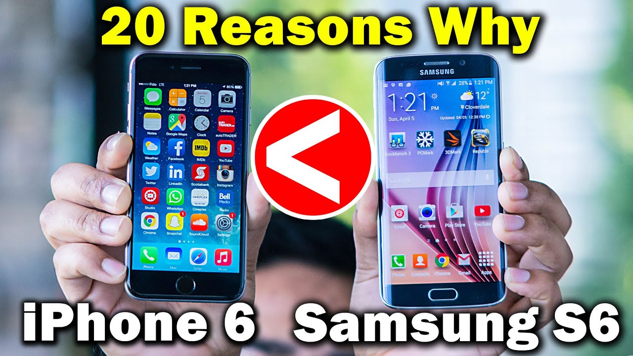 20 reasons why the samsung galaxy s6 is better than the